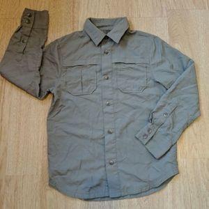 REI outdoor shirt